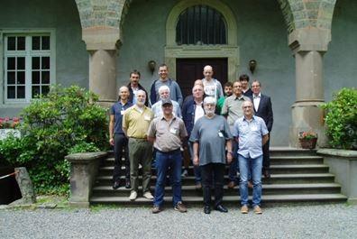 Vsi udeleženci seminarja (Ernest Magdič, prvi in Geza Čotar, drugi iz leve prosti desni)